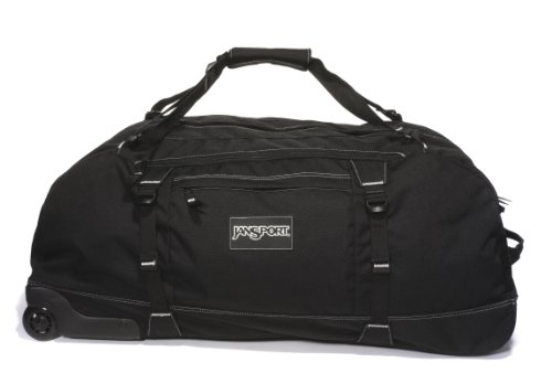 Jansport Wheeled Duffelpack - Black, 91cm