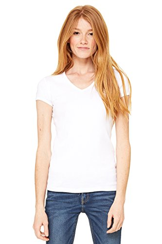 Zara Yoga Studio |LA| Women's Baby Rib Short Sleeve V-Neck Tee