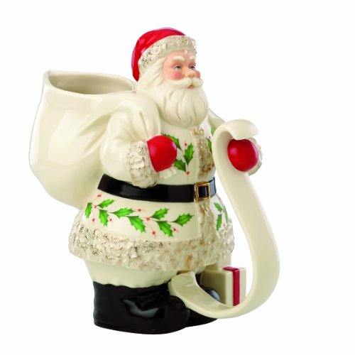 SAVE $52.01 - Lenox Holiday Santa Pitcher (882864267580) $19.99