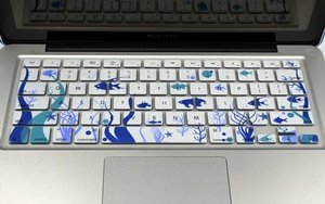 Case Star Ocean series White Keyboard Silicone