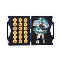 JOOLA Competition Table Tennis Tour Case Set, Blue by Joola