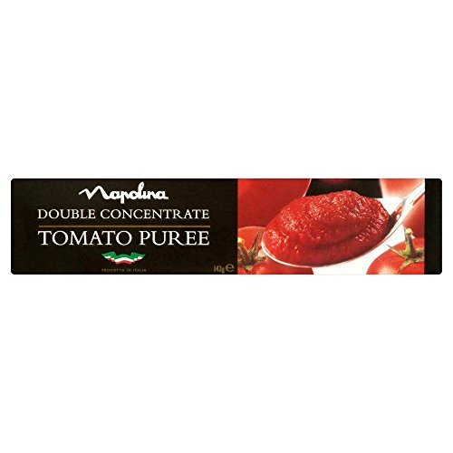 Napolina Tomato Puree Tube - 142g - Pack of 2 (142g x 2 Tubes) (Tomato Puree Concentrate compare prices)