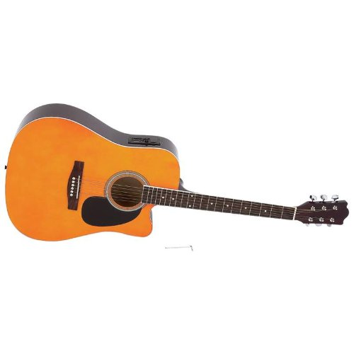 41 Inch Acoustic Electric Guitar From Maxam