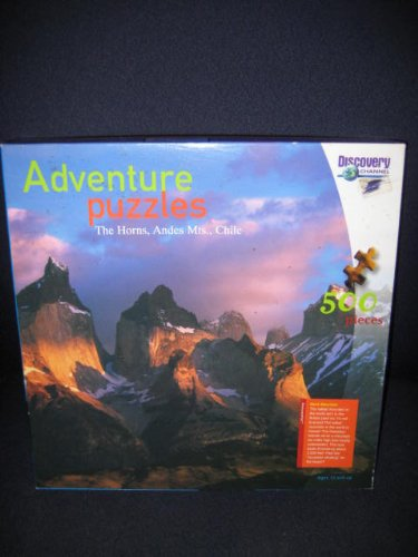 Discovery Channels - Adventure Puzzles - The Horns, Andes Mountains, Chile - 500 Piece Jigsaw Puzzle