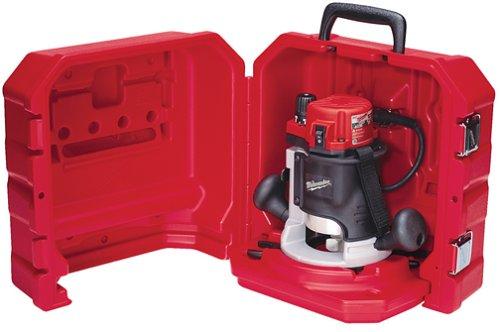 Milwaukee 5615 21 1 3 4 max horsepower bodygrip router kit for 3 1 4 hp router motor only