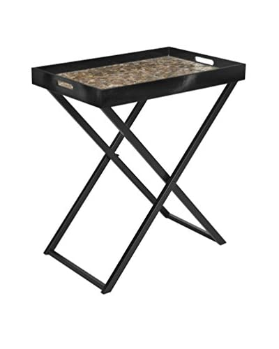 Safavieh Abba Tray Table, Brown