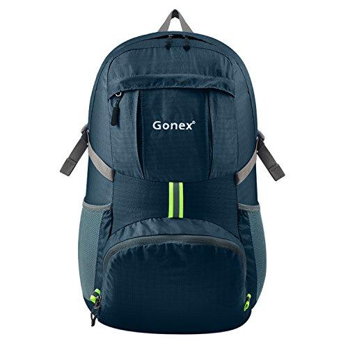 gonex-35l-lightweight-packable-backpack-handy-foldable-shoulder-bag-daypack-navy-blue