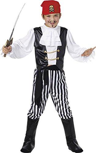 Smiffy's - Costume da pirata, Bambino, taglia: L