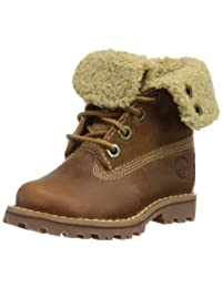 Timberland Six-Inch Shearling Fold Down Boot (Toddler/Little Kid/Big Kid)