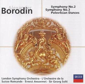Borodin: Symphonies Nos. 2 & 3; Polovtsian Dances [Canada]