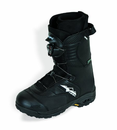HMK Team Series Men's Boa Boots (Black, Size 13)
