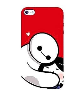 EPICCASE Teddy Hug Mobile Back Case Cover For Apple iPhone 4/4s (Designer Case)
