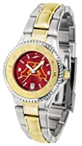 Minnesota Golden Gophers Competitor AnoChrome Ladies Watch with Two-Tone Band
