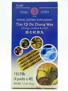 Tian Qi Zhong Wan Du 192 pilules (Tanglong)
