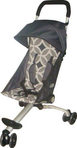 Quicksmart Back Pack Stroller (Black/Grey)