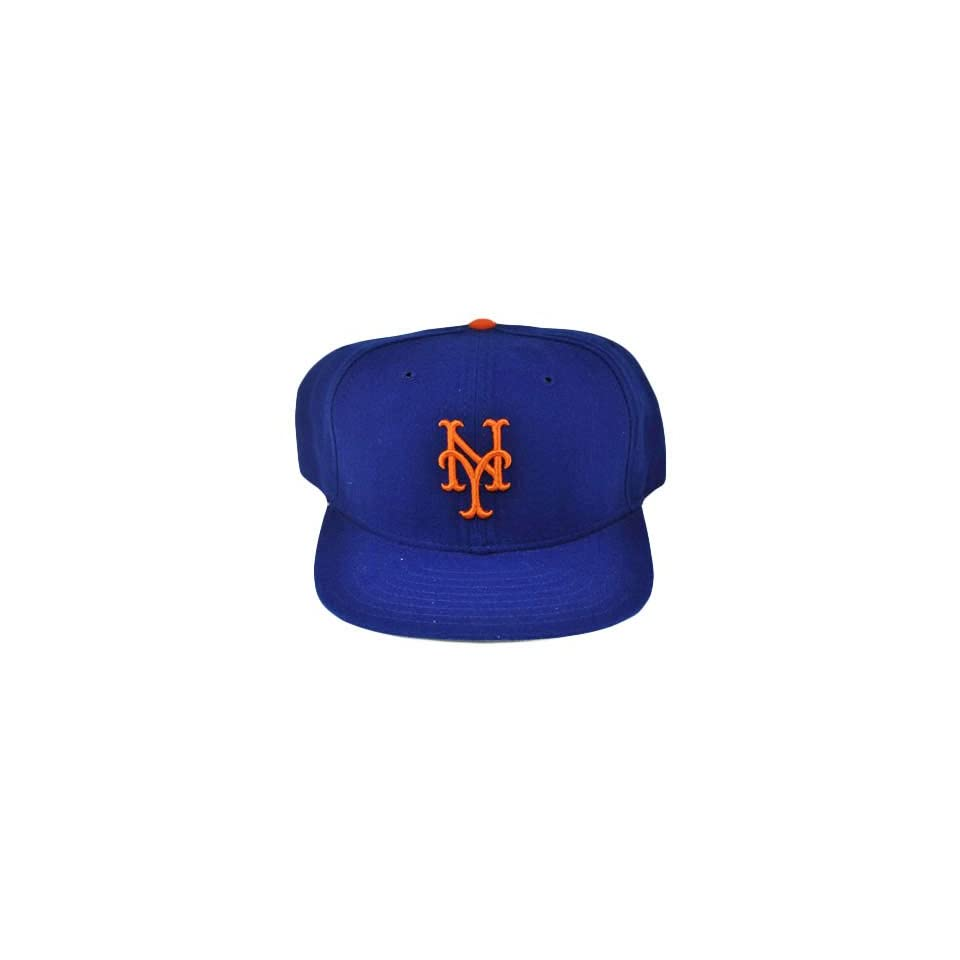 09ae5308fbe NEW ERA YORK METS OLD SCHOOL VINTAGE HAT CAP WOOL BLUE Sports Fan Baseball  Caps Sports   Outdoors