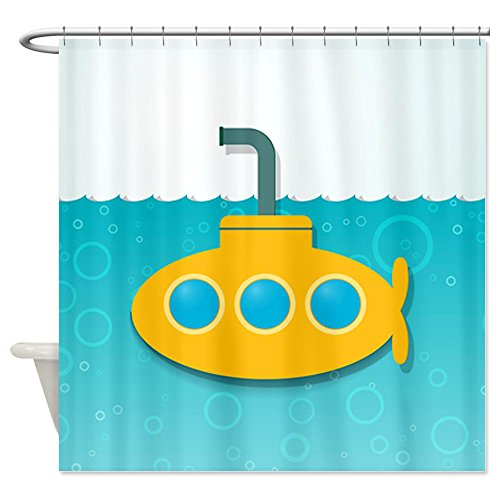 Yellow Submarine Shower Curtain -