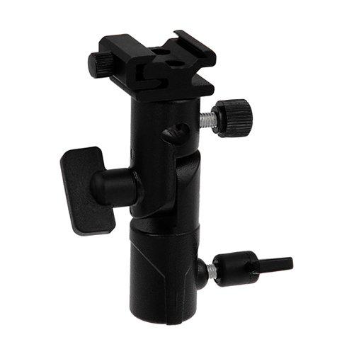 Fotodiox Elite Flash Umbrella Bracket - Swivel/Tilt Head, Mountable to Light Stand & Tripod, for Nikon Flash (Tripod Flash Bracket compare prices)