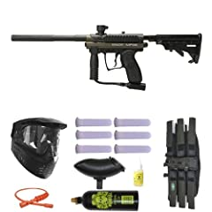 Buy Spyder MR100 Pro Paintball Gun Marker Mega Set - Olive by Spyder