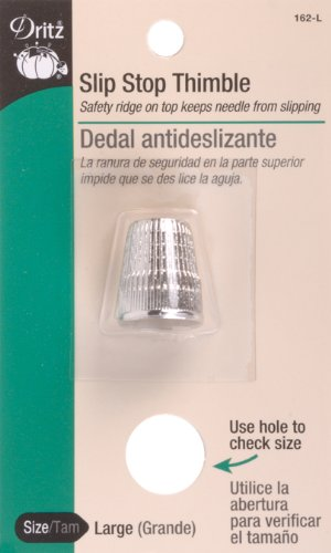 Buy Bargain Dritz Slip Stop Thimble, Large