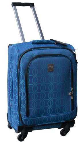 jenni-chan-links-360-quattro-21-inch-luggage-blue-one-size