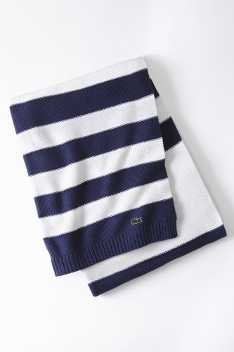 Striped Knit Throw