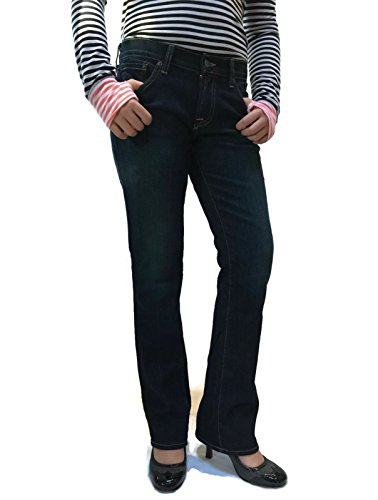 Lucky Brand Women's Jean Classic Rider in Dark Paley 12(US)x31(EUROPE), 30(Ankle)