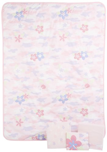 Summer Infant Camo Toddler 4-Piece Bedding Set - Girl (Discontinued by Manufacturer)
