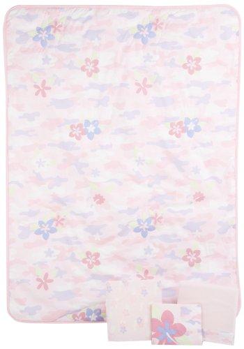 Summer Infant Camo Toddler 4-Piece Bedding Set - Girl front-924422