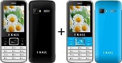 I KALL (K34BLACK+K34BLUE) Mobile Combo