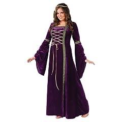 Renaissance Lady Adult Plus Costume