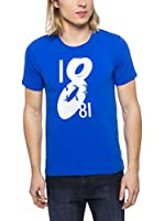 Cerruti Camiseta Manga Corta CMM8022850 C0843 (Azul Royal)