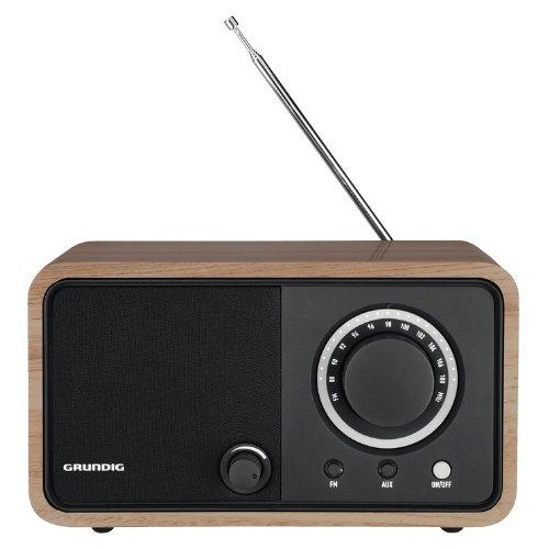 Grundig GRR2740 Radio Portatile TR1200, Marrone