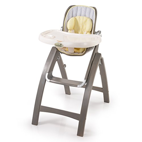 Summer Infant Bentwood Highchair, Chevron Leaf - 1