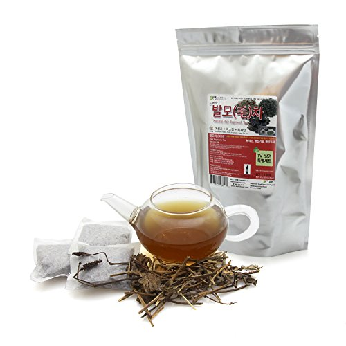 [Hair Regrowth Tea Set] Houttuynia Cordata, Perilla Frutescens, Green Tea Leaf Tea 60G(20Teabags) Korea Imports