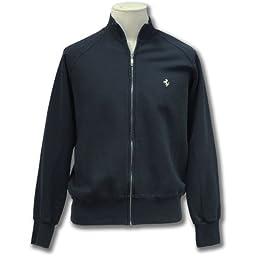 Men\'s full zip blue sweatshirt featuring the Prancing Horse (XXL)