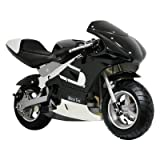 MotoTec Gas Pocket Bike Battery Powered Riding Toy -