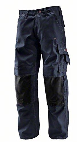 Bosch Professional 0618800201 WKT 010 Pantaloni con Ginocchiere ,Blu, Taglia del produttore: 52