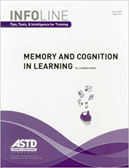 Memory And Cognition In Learning (Infoline)