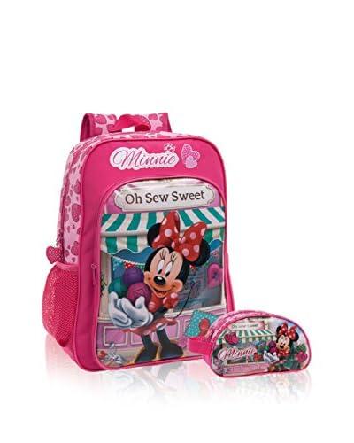 Disney Zaino + Astuccio Minnie Sew