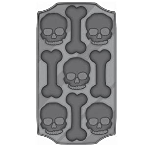 Halloween Party Skull Ice Cube Tray Kitchen Tools