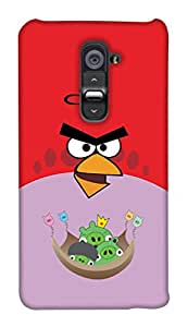 Print Haat Back Case Cover for LG G2 (Multicolor)