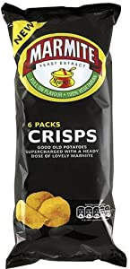 Marmite Crisps 6 x 25g