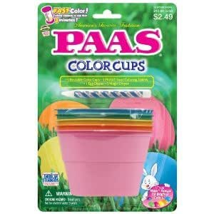 PAAS Cups Egg Decorating Kit