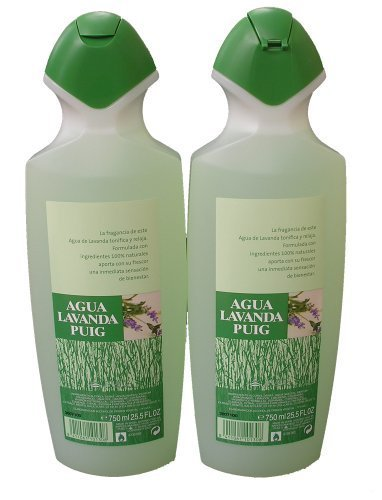 2 Agua Lavanda Cologne 750ml/25.5oz. by Antonio Puig