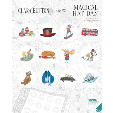 Clara Button Stickers||EVAEX