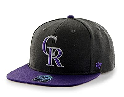 47 Brand Colorado Rockies Two-Toned Sure Shot Mens Snapback Hat