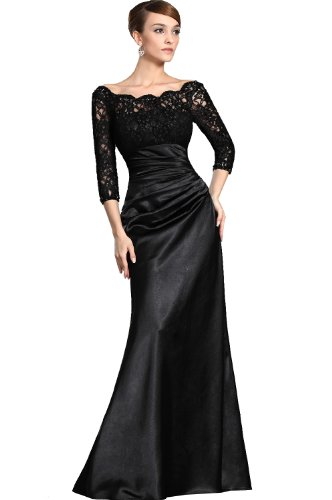 eDressit Long Lace Sleeve Formal Party Evening Dress, SZ14