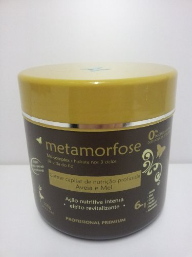 Metamorfose Honey & Oats Salt-free Revitalising & Deep Nutrition Hair Cream by Metamorfose