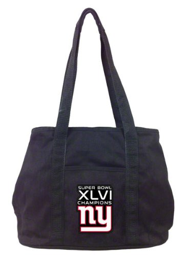 New York Giant Super Bowl Xlvi Champions Hampton Tote Picture